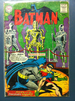 BATMAN #172 Attack of the Invisible Knights Jun 65 Good Heavy wear, scuffing and minor paper loss; contents fine