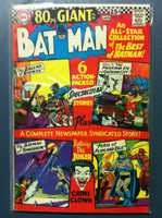 BATMAN #187 The Clock: Batman's First Case (First app) (Giant - 80 pgs) Jan 67 Very Good to Fine