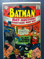 BATMAN #191 The Day Batman Sold Out May 67 Very Good to Fine Lt wear, ow clean
