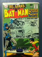 BATMAN #203 The 1,000 Secrets of the Bat-Cave (Giant - 80 pgs) Jul 68 Fine