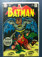 BATMAN #209 Jungle Jeopardy Feb 69 Very Good to Fine