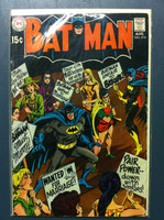 BATMAN #214 Batman's Marriage Trap Aug 69 Very Good Wear on cover, contents fine