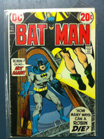 BATMAN #246 How Many Ways Can Robin Die? Dec 72 Very Good to Fine Lt wear along binding, contents fine