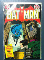 BATMAN #250 The Deadly Numbers Game Jul 73 Very Good to Fine Lt wear on cover, scuffing; ow clean
