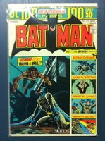 BATMAN #255 Anthony Lupus: Moon of the Wolf (First app) (Giant - 100 pgs) Apr 74 Very Good to Fine Wear on cover, contents fine