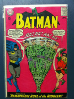 BATMAN #171 The Remarkable Ruse of the Riddler May 65 (1st Riddler Appearance since Dec 1948) Very Good to Excellent Lt wear on cover; contents fine