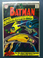BATMAN #188 The Eraser Who Tried to Rub Out Batman Dec 66 Very Good Wear on cover, ow clean