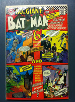 BATMAN #193 Batman and Robin's Bizarre Action Roles (Giant - 80 pgs) Jul 67 Very Good to Fine Lt wear, ow clean