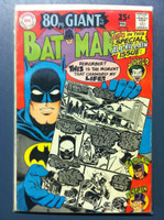 BATMAN #198 Special All-Villain Issue (Giant - 80 pgs) Feb 68 Very Good Wear on cover, lt creasing, sl paper loss along binding