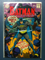 BATMAN #201 Batman's Gangland Guardians May 68 Very Good to Fine Lt wear, ow clean