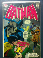 BATMAN #222 Dead…Till Proven Alive - Beatles Spoof on Paul Is Dead rumour Jun 70 Very Good Wear and lt creasing on cover, small pencil markings; contents fine