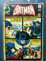 BATMAN #233 The Crime Wave of Bruce Wayne et al (Giant - 64 pgs) Aug 71 Very Good Wear on cover, contents fine