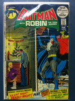 BATMAN #239 Silent Night, Deadly Night Feb 72 Very Good Wear and creasing on cover, contents fine