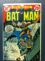 BATMAN #247 Merry Christmas Feb 73 Very Good to Fine Lt wear on cover, ow clean