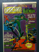DETECTIVE COMICS ft: BATMAN & ROBIN #353 The Weather Wizard's Triple Treasure Thefts Jul 66 Very Good to Fine