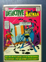 DETECTIVE COMICS ft: BATMAN & ROBIN #364 Riddler : The Curious Case of the Crime-less Clues Jun 67 Very Good to Fine