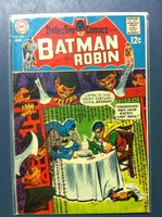 DETECTIVE COMICS ft: BATMAN & ROBIN #383 The Fortune-Cookie Caper Jan 69 Very Good to Fine