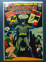 DETECTIVE COMICS ft: BATMAN & ROBIN #387 The Cry of Night is Sudden Death May 69 Very Good to Fine