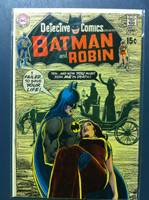DETECTIVE COMICS ft: BATMAN & ROBIN #403 You Die By Mourning Sep 70 Very Good Wear on cover, creasing, wear along binding; contents fine