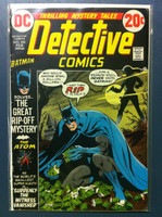 DETECTIVE COMICS ft: BATMAN & ROBIN #432 The Great Rip-Off Mystery Feb 73 Very Good Wear and creasing on cover, contents fine