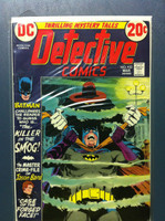 DETECTIVE COMICS ft: BATMAN & ROBIN #433 Killer in the Smog Mar 73 Very Good to Fine