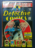 DETECTIVE COMICS ft: BATMAN & ROBIN #438 Giant (100 pg ) - A Monster Walks Wayne Manor Jan 74 Very Good to Fine Lt wear, creasing on cover; contents fine