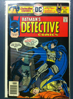 DETECTIVE COMICS ft: BATMAN & ROBIN #459 A Clue Before Dying May 76 Fine