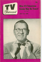 1950 TV Forecast July 22 Ransom Sherman (32 pgs) Chicago edition Very Good to Excellent - No Mailing Label