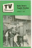 1950 TV Forecast August 5 Come to the (Chicago) Fair (32 pgs) Chicago edition Excellent