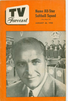 1950 TV Forecast August 26 Wayne King (32 pgs) Chicago edition Excellent