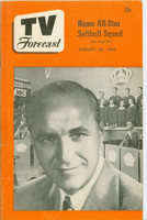 1950 TV Forecast August 26 Wayne King (32 pgs) Chicago edition Very Good to Excellent - No Mailing Label