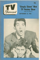 1950 TV Forecast September 16 Dean Martin and Jerry Lewis (32 pgs) Chicago edition Excellent - No Mailing Label