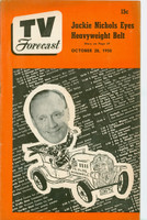 1950 TV Forecast October 28 Jack Benny (36 pgs) Chicago edition Very Good to Excellent