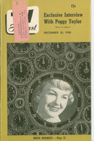 1950 TV Forecast December 30 Kyle MacDonnell (38 pgs) Chicago edition Very Good to Excellent