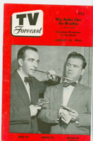 1950 TV Forecast Aug 26 Payday on Lindy's Lounge (16 pages) New England edition Excellent  [Lt wear on cover, sl moisture on reverse]