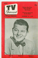 1950 TV Forecast Dec 16 Jack Carson (20 pages) New England edition Very Good to Excellent  [Lt wear and sm crease on cover; contents fine]