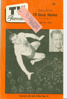 1951 TV Forecast February 17 Antonio Rocca (Wrestler) (40 pgs) Chicago edition Excellent