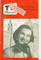 1951 TV Forecast March 10 Toni Rodgers (40 pgs) Chicago edition Excellent
