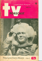 1951 TV Forecast July 14 Al Markim, Space Cadet (48 pgs) Chicago edition Very Good