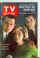 1967 TV Guide Feb 11 Mission Impossible (First Cover) Eastern Washington edition Very Good - No Mailing Label  [Toning along binding, lt wear on cover; contents fine]