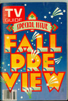 1980 TV Guide Sep 13 Fall Preview Chicago edition Excellent - No Mailing Label  [Lt wear on cover, ow very clean]