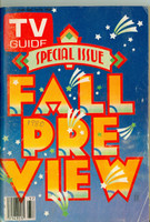 1980 TV Guide Sep 13 Fall Preview Kansas City edition Very Good - No Mailing Label  [Scuffing and wear on cover; year WRT in pencil; contents fine]