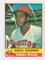 Cecil Cooper AUTOGRAPH 1976 Topps #78 Red Sox   [SKU:CoopC3603_T76BBCC]