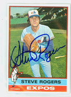 Steve Rogers AUTOGRAPH 1976 Topps #71 Expos   [SKU:RogeS1099_T76BBCC]