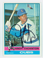 Andy Thornton AUTOGRAPH 1976 Topps #26 Cubs   [SKU:ThorA6326_T76BBCC]