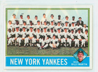 1976 Topps Baseball 17 Yankees Team Excellent to Mint