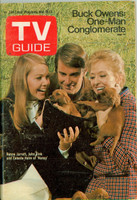 1970 TV Guide Nov 7 Cast of Nancy Eastern Illinois edition Excellent - No Mailing Label  [Wear on cover, contents fine]