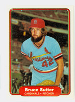 1982 Fleer Baseball 129 Bruce Sutter St. Louis Cardinals Near-Mint to Mint