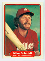 1982 Fleer Baseball 258 Mike Schmidt Philadelphia Phillies Near-Mint to Mint