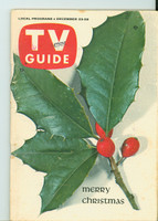 1961 TV Guide Dec 23 Christmas Minnesota State edition Excellent - No Mailing Label  [# WRT in logo; wear along binding; contents fine]